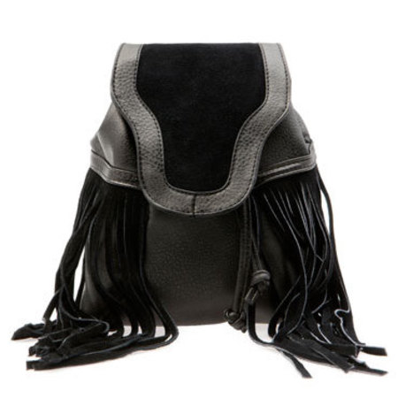 Bershka fringed bag - best fringed bag if you can't afford a Gucci - shopping feature - shopping bag - handbag.com