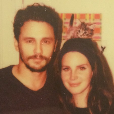 James Franco and Lana Del Rey - instagram - getting together - handbag.com