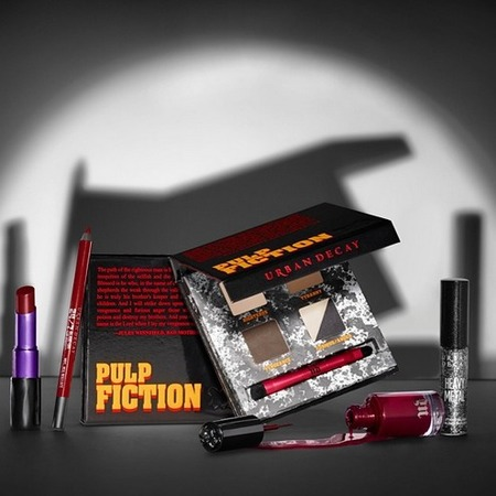 Urban Decay to launch Pulp Fiction makeup range inspired by Mia Wallace - Uma Thurman in Pulp Fiction - beauty icons in film - new makeup range - beauty bag - handbag.com