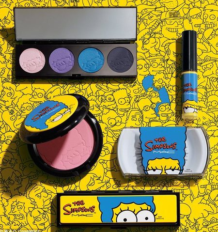 mac x simpsons collaboration - product picks - beauty feature - beauty bag - handbag.com