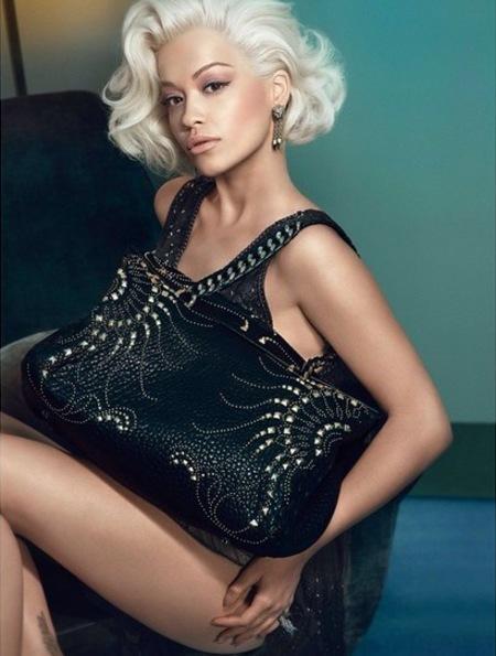rita ora-roberto cavalli-sexy ad campaign-autumn winter 2014-regina handbag-handbag.com