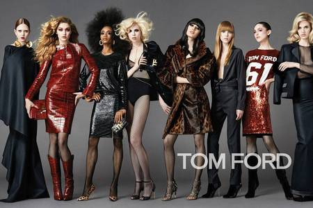 tom ford aw14 campaign - shopping bag - handbag