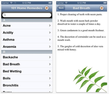 The best apps for health, wellness and calm - 101 home remedies - holistic natural treatments - handbag.com