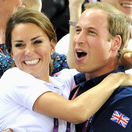 Kate and William at the Olympics