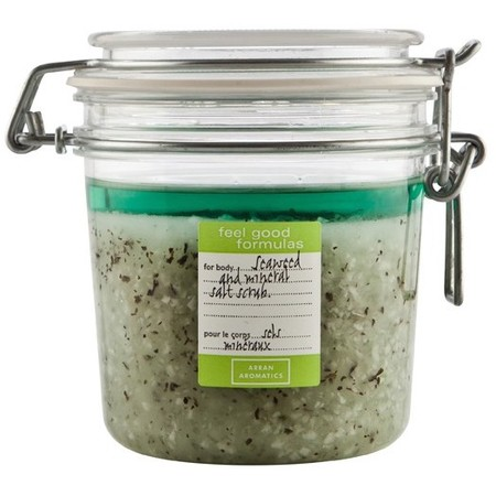 arran aromatics-Feel Good Formulas Seaweed & Mineral Salt Scrub-skincare-how to treat dry skin-exfoliate-handbag.com