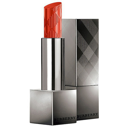 Burberry Lip Glow Balm-red-orange poppy-sheer lipstick-handbag.com