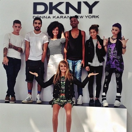 Cara Delevingne announces the winners of #carawantsyou dkny modelling competition - handbag.com