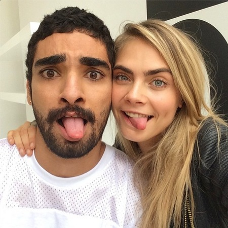 Winners of the Cara Delevingne #carawantsyou DKNY modelling competition