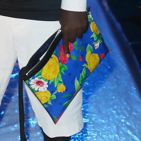Cyprien Richiardi's floral zip pouch