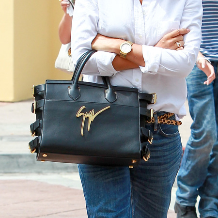 Jessica Alba's designer handbag collection