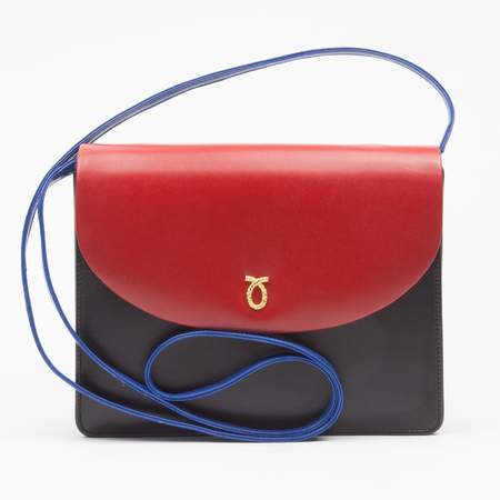 Launer Sally handbag - clutch bag - bespoke - three section bag - handbag.com