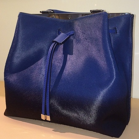 mulberry-kensington bag-navy blue calf hair-spring summer 2015-handbag.com