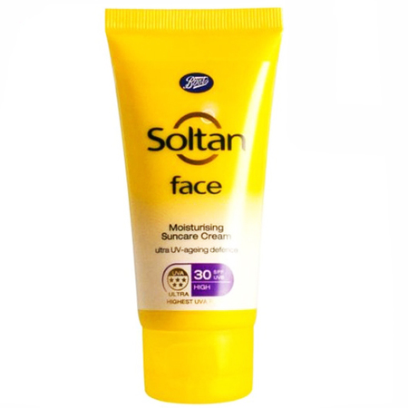 Soltan Face Moisturising Suncare Cream-face spf and uva sun protection-handbag.com