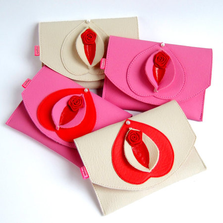 Vagina handbags for sale on etsy - vagina shaped handbags - weird hadnbags - what to buy on etsy - shopping news - handbag.com