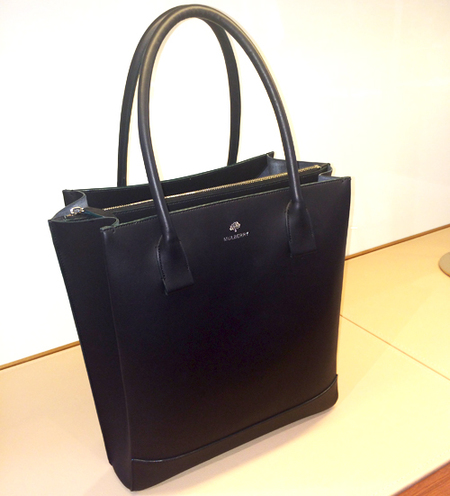 mulberry zip handbag-navy blue leather bag-handbag.com