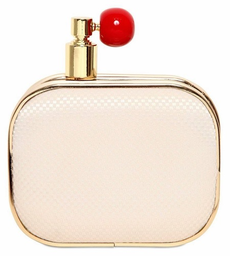 oui odile perfume clutch - designer handbags that look like beauty products - shopping bag - handbag