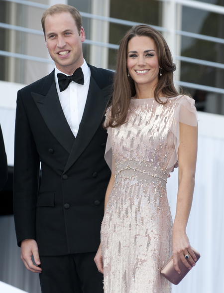 Prince William and Duchess Kate at the ARK gala dinner