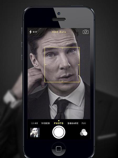 Benedict Cumberbatch - Dr Gotts celebrity photographer - hot pictures - iphone selfie - handbag.com
