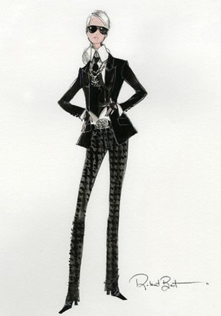 karl lagerfeld barbie - shopping bag - handbag