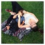 Miranda Kerr and Flynn's love-in