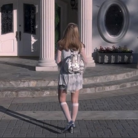cher horowitz silver backpack - Shop the best handbags from Clueless - shopping bag - handbag