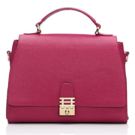 Florian London - Vienna Top Handle Bag - bright pink - buy it on your break - handbag.com
