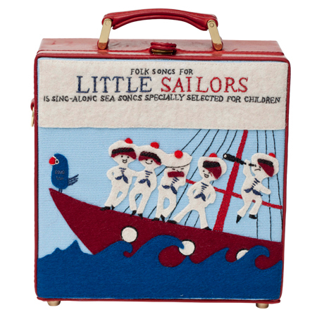 olympia le tan little sailors clutch - best nautical handbags - shopping bag - handbag