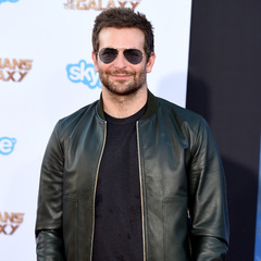 Bradley Cooper - leather jacket - looking hot - cool - without suki waterhouse - style - handbag.com