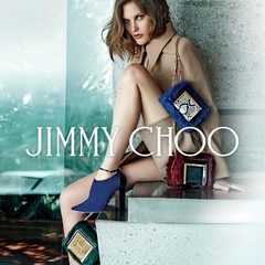 jimmy choo aw14 campaign - colourful bags - shopping bag - handbag