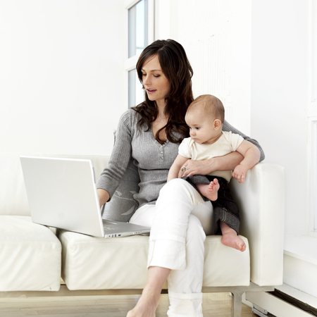 mum working from home - start your own business - top tips - baby advice - baby bag - handbag.com