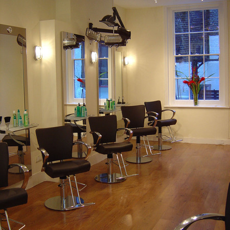 Natural hair colour at Natural Colour Works Soho Salon - beauty bag - handbag