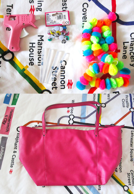 how to make a festival bag - final bag - shopping bag - handbag