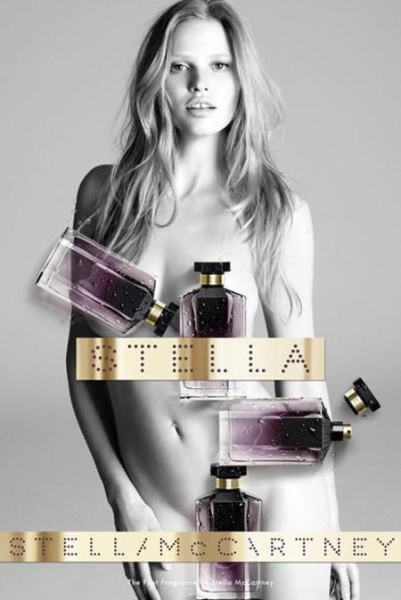 stella mccartney perfume campaign-original stella-classic perfume-lara stone naked-handbag.com